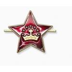 Кокарда Таджикистан звезда