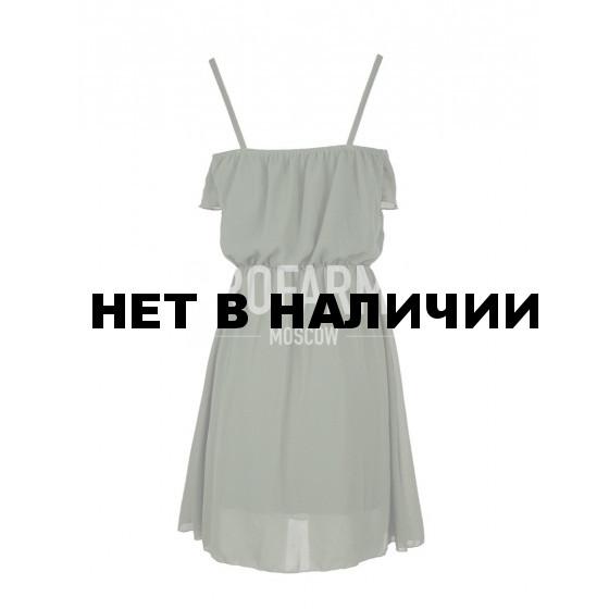 Платье оливковый зеленый