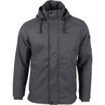 Куртка утепленная Crossroad черно-серый меланж 46/170-176