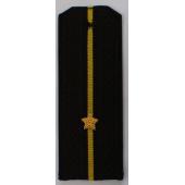 Погоны ВМФ вышитые Младший лейтенант повседневные