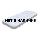 Матрас надувной Air bed Single Comfort Plus сероголубой/черный, 185х74х20 см, 40023