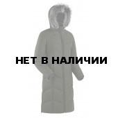 Пальто пуховое женское BASK ROUTE V3 зеленый тмн