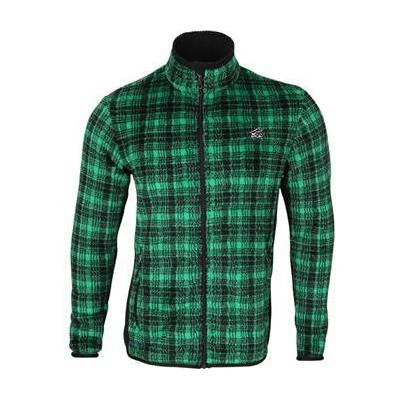 Куртка Cell Polartec High-Loft зеленая клетка