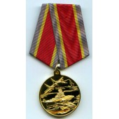 Медаль Защитнику Отечества боевая техника металл