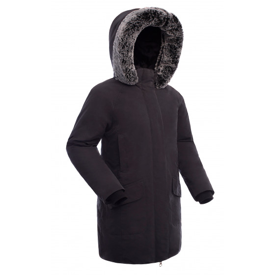 Куртка пуховая женская BASK ISIDA черная