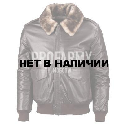 55f386c9e1d Куртка из натуральной кожи Madras Brown 7162 (коричневый) недорого ...