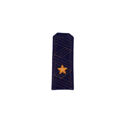Погоны ВКС-ВВС-ВДВ генерал-майор с хлястиком повседневные