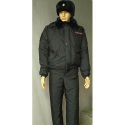 Куртка Полиция зимняя укороченная ( фольга/мембрана/холофайбер)
