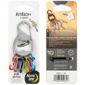 Брелок для ключей Key Rack S-biner, стальной (Nitelze)