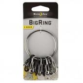 Брелок для ключей BigRing стальной (Nitelze)