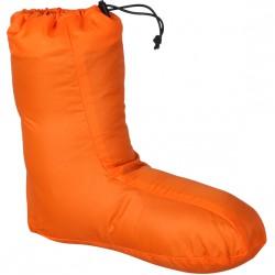 Чуни пуховые оранжевые