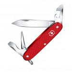 Нож перочинный Victorinox Alox Pioneer (0.8201.L18) 93 мм 8 функций красный подарочная коробка