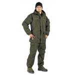 Костюм демисезонный ГЕРКОН-ВЕСНА/ОСЕНЬ куртка/брюки цвет: Олива, ткань : Твил Мембрана
