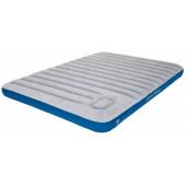 Матраc надувной Air bed Cross Beam Double Extra Long lightgrey/blue, 210x140x20, 40045