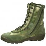 Ботинки с высоким берцем летние Кобра 12432 мох