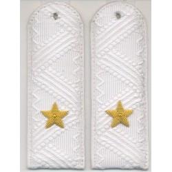 Погоны Полиция генерал-майор на белую рубашку парадные