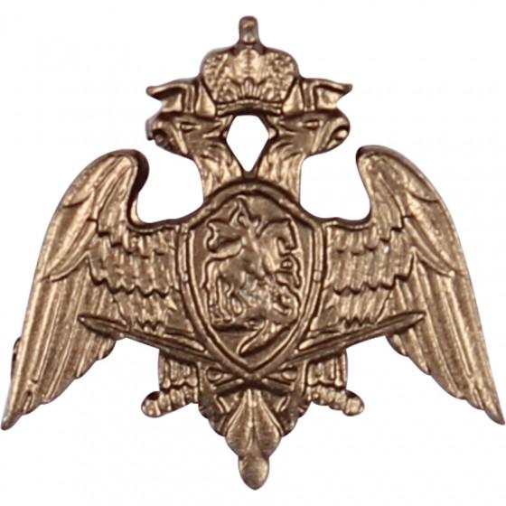 Эмблема петличная Росгвардия полевая металл