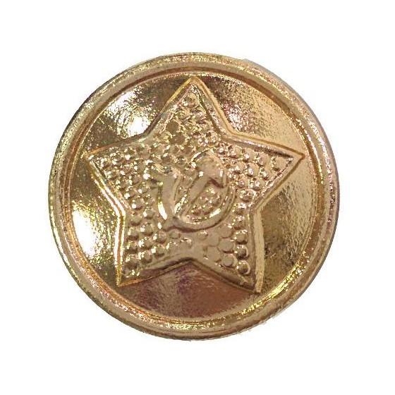 Пуговица диам. 14мм Советская Армия звезда повседневная металл