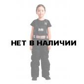 Полукомбинезон пуховый BASK kids NARVI черный