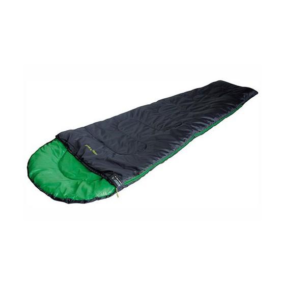 Мешок спальный Easy Travel антрацит/зелёный, 20069