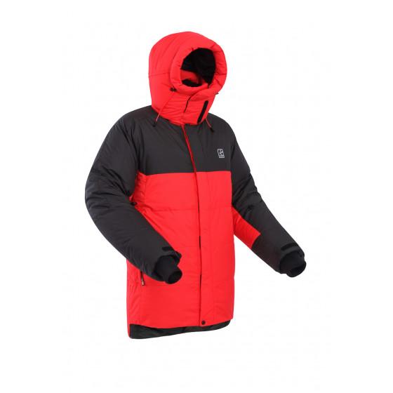 Пуховая куртка BASK KHAN TENGRI V7 красная/черная