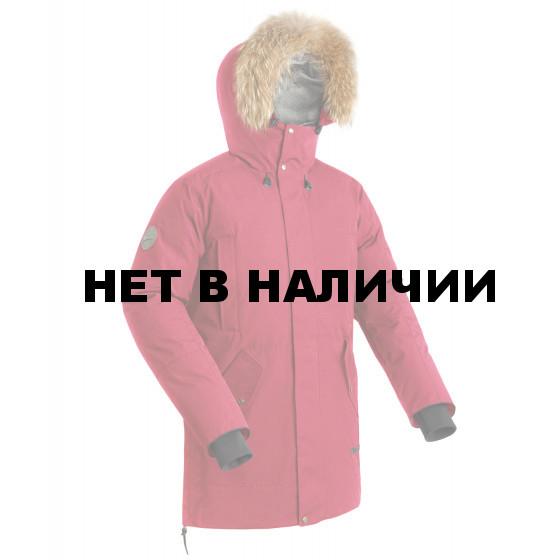 Куртка-парка пуховая мужская BASK VORGOL красная