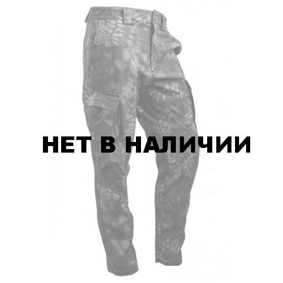 Брюки МПА-28 (ткань Софтшелл), камуфляж питон ночь