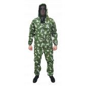 Костюм антимоскитный МАСКХАЛАТ-Хлопок куртка/брюки, ткань Бязь 100%Х/Б, камуфляж Березка