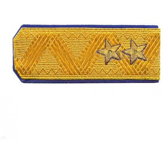 Погоны генерал-лейтенант ФСБ на китель парадные метанит