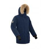 Куртка пуховая мужская BASK ALKOR темно-синяя