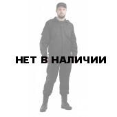 Костюм мужской Спецназ черный, ткань смесовая