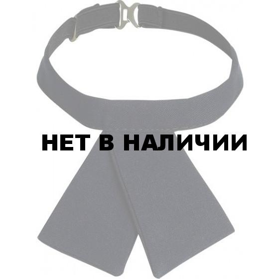 Галстук-бант иссиня- черный габардин