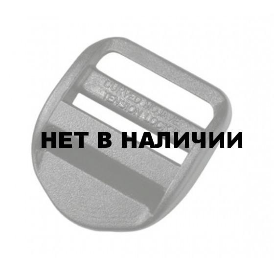 Пряжка трехщелевая регулировочная 20 мм 1-05318 черный Duraflex