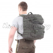 Рюкзак KE Assault 40л Polyamide 500 Den олива темная