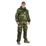 Костюм БАРС куртка/брюки, цвет:, камуфляж Атака зелёная, ткань : Грета