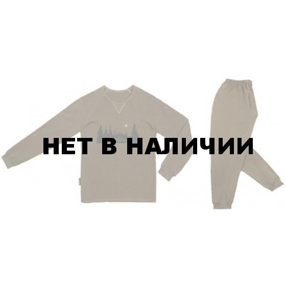 Комплект белья нательного хаки (RosHunter)