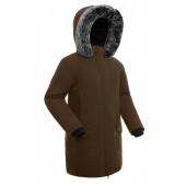 Куртка пуховая женская BASK ISIDA коричневая