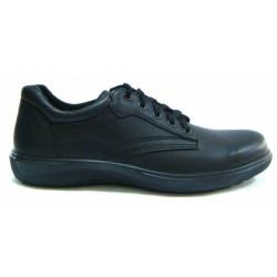 Полуботинки (туфли) форменные Пикник 6389 летние черные
