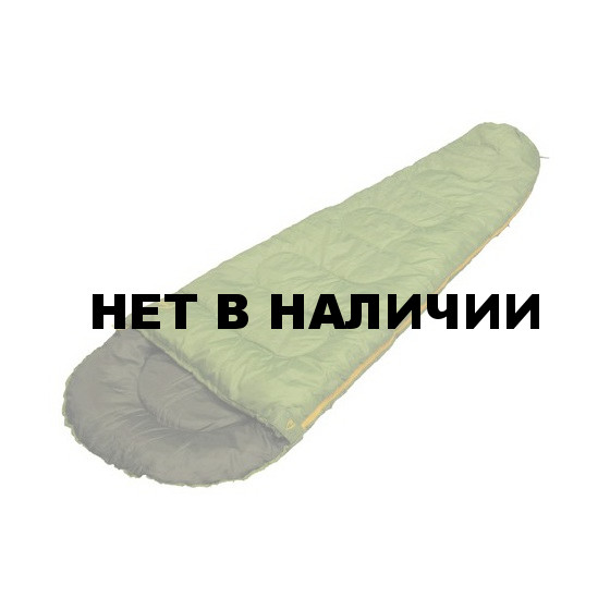 Мешок спальный Yanda зелёный, 220 x 75/50 см, 25040