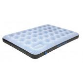 Матраc надувной Air bed Double Comfort Plus сероголубой/черный, 197х138х20 см, 40025