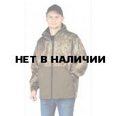 КУРТКА флисовая ПИКНИК цвет:, камуфляж Осока/хаки