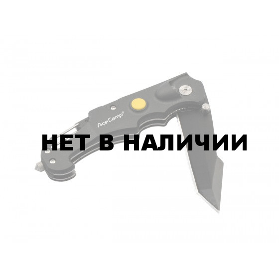 Нож 4-х функциональный Чёрный, 2530