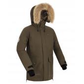 Куртка пуховая мужская BASK PUTORANA V2 хаки темный