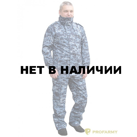 Костюм Rain off TPM-19 мембранный цифра МВД