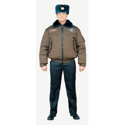 Куртка зимняя м. 5245 натуральный мех Смесовая