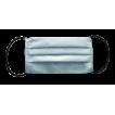 Маска для лица трехслойная цвет: бирюзовый, ткань : спанбонд
