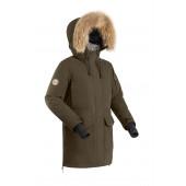 Куртка пуховая женская BASK IREMEL V2 ХАКИ
