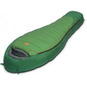 Мешок спальный MOUNTAIN зеленый, левый, 9221.01012