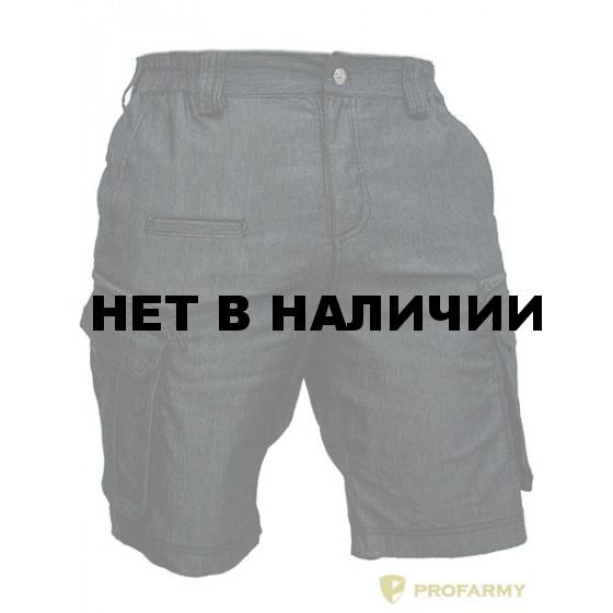 Шорты мужские SOMALI-CPS78 Denim black gray