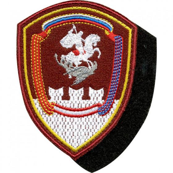 Нашивка на рукав с липучкой Росгвардия Дивизия им.Дзержинского вышивка шёлк